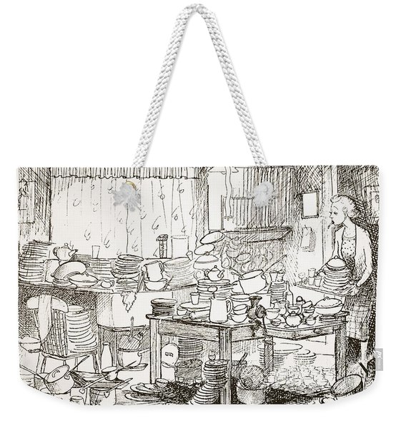 A Tendency To Leave The Washing-up Till Weekender Tote Bag