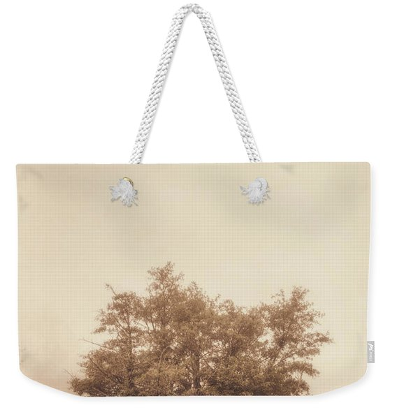 A Tree In The Fog Weekender Tote Bag
