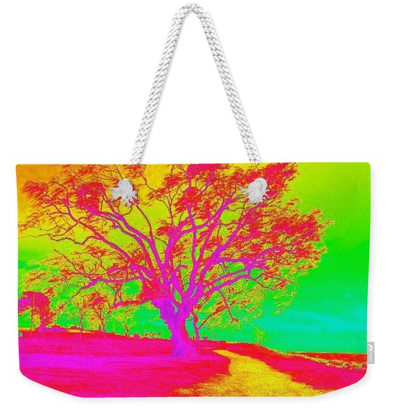 A Tree Of A Different Color Weekender Tote Bag