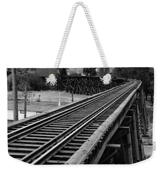 A Trestle And Covered Bridge Weekender Tote Bag