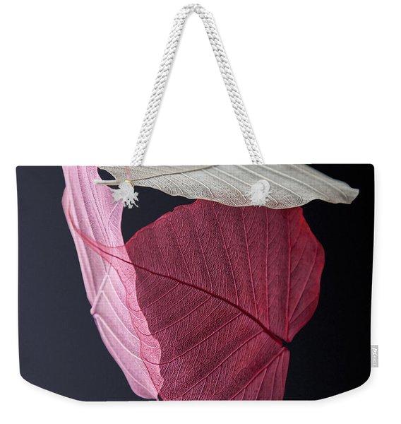 A Trinity Of Leaves Weekender Tote Bag