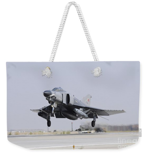 A Turkish Air Force F-4e 2020 Weekender Tote Bag