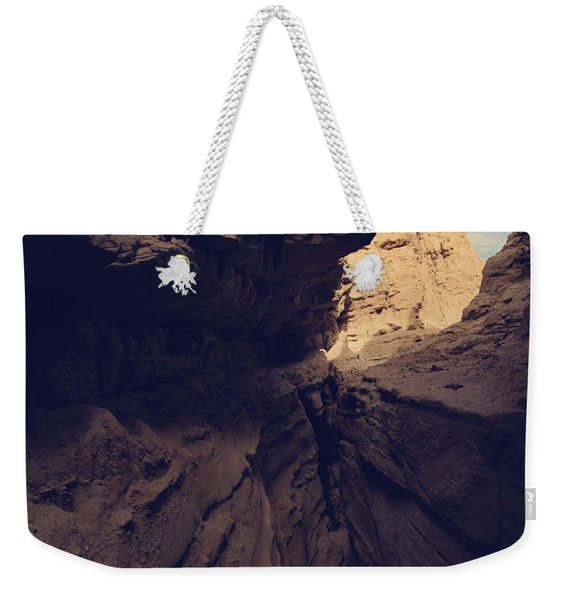 A Very Tight Squeeze Weekender Tote Bag