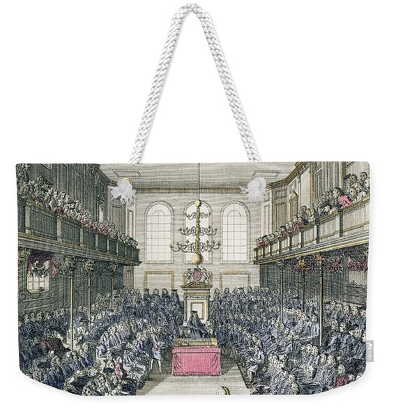 A View Of The House Of Commons Weekender Tote Bag