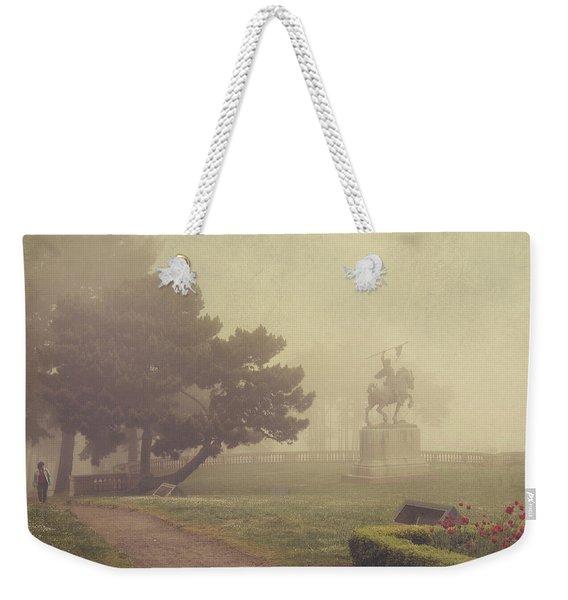 A Walk In The Fog Weekender Tote Bag
