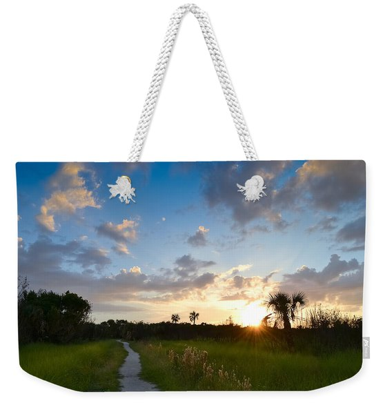 A Walk With You... Weekender Tote Bag