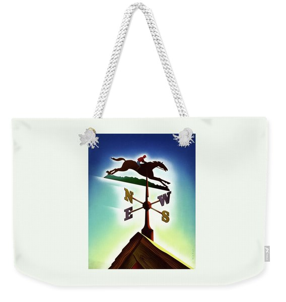 A Weather Vane Weekender Tote Bag