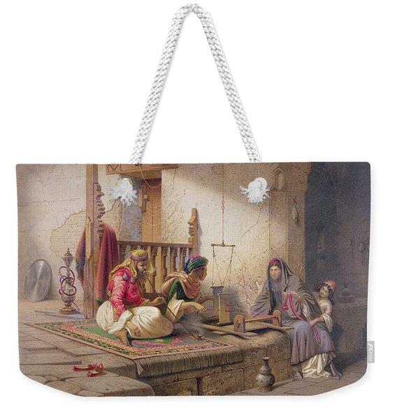 A Weaver In Esna, One Of 24 Weekender Tote Bag