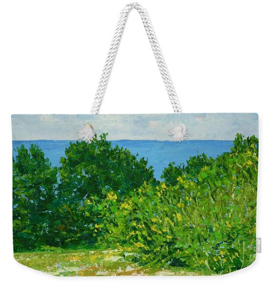 A Winter's Day At The Beach Weekender Tote Bag