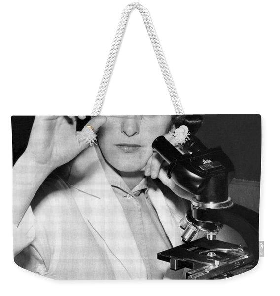 A Woman Scientist Weekender Tote Bag