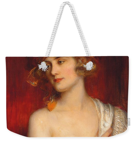 A Young Beauty Weekender Tote Bag