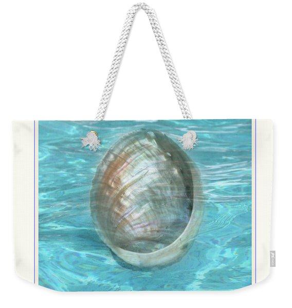 Abalone Underwater Weekender Tote Bag