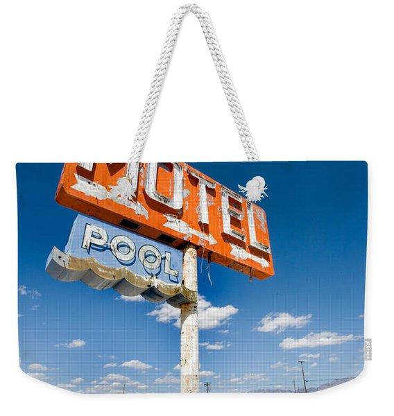 Abandoned Motel Weekender Tote Bag