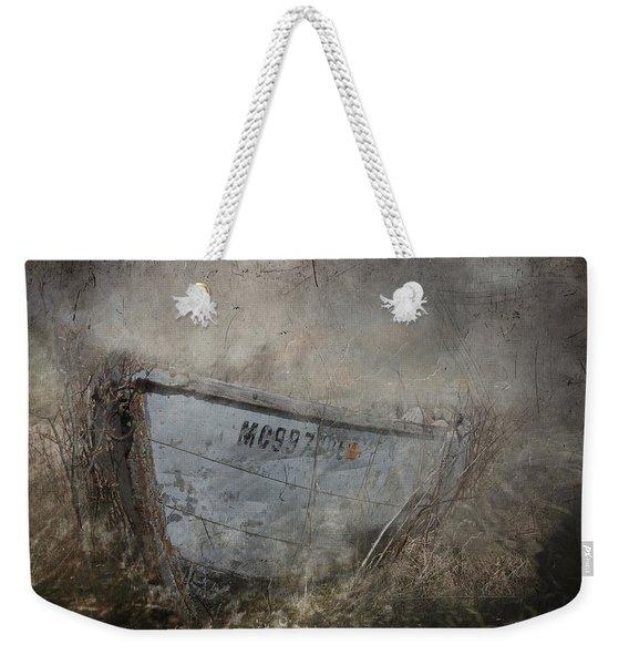 Abandoned On Sugar Island Michigan Weekender Tote Bag