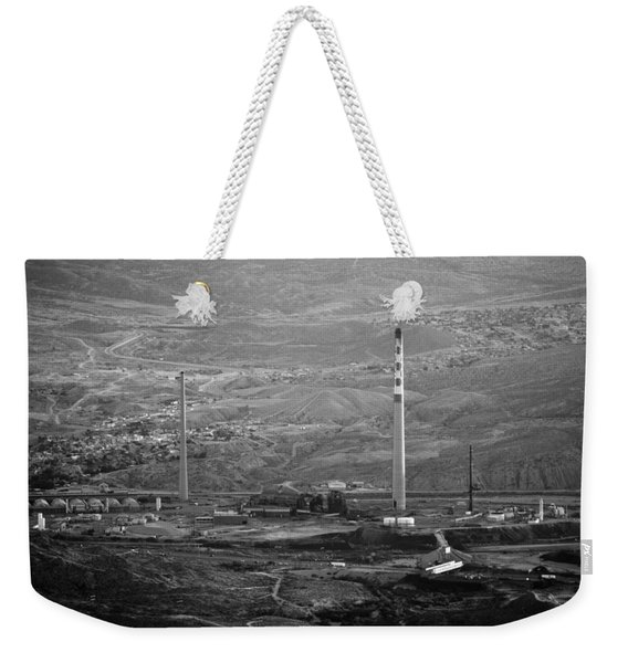Abandoned Smokestacks Weekender Tote Bag