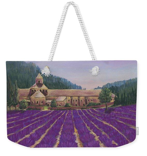 Abbaye Notre-dame De Senanque Weekender Tote Bag