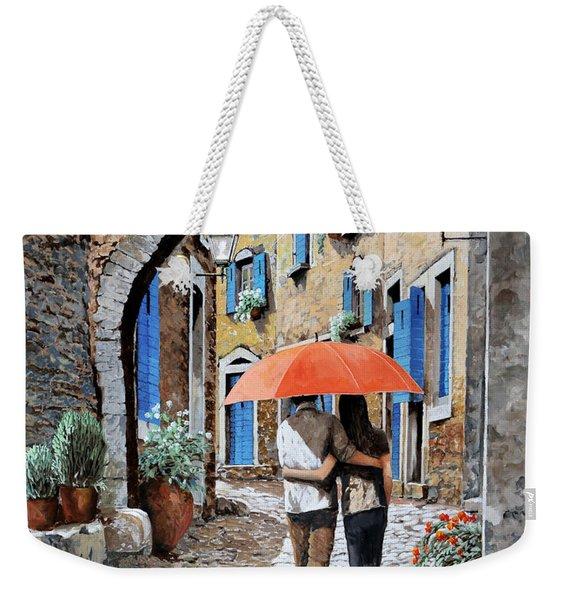 Abbracciati Sotto L'arco Weekender Tote Bag