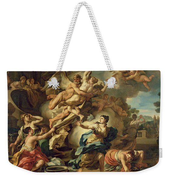 Abduction Of Orithyia Weekender Tote Bag