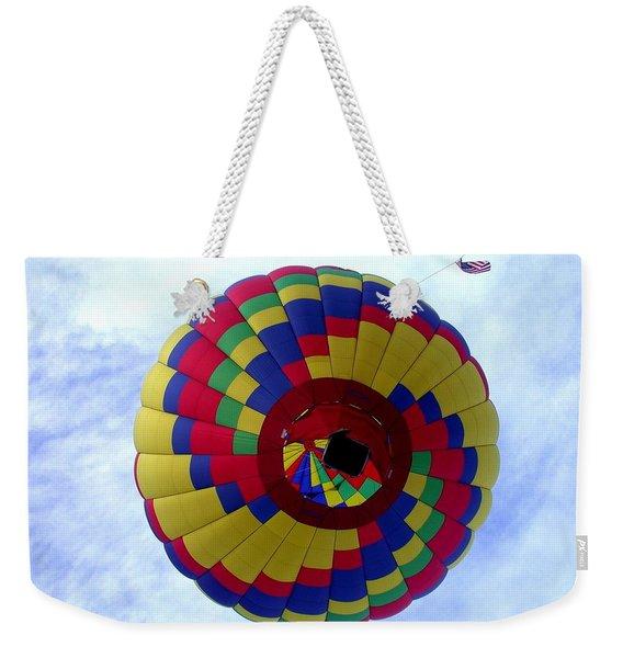 Above And Beyond Weekender Tote Bag
