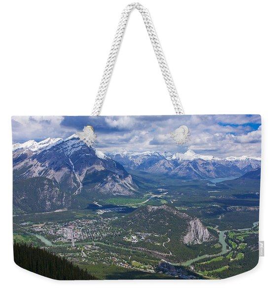 Above Banff Weekender Tote Bag