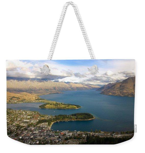 Above Queenstown Weekender Tote Bag