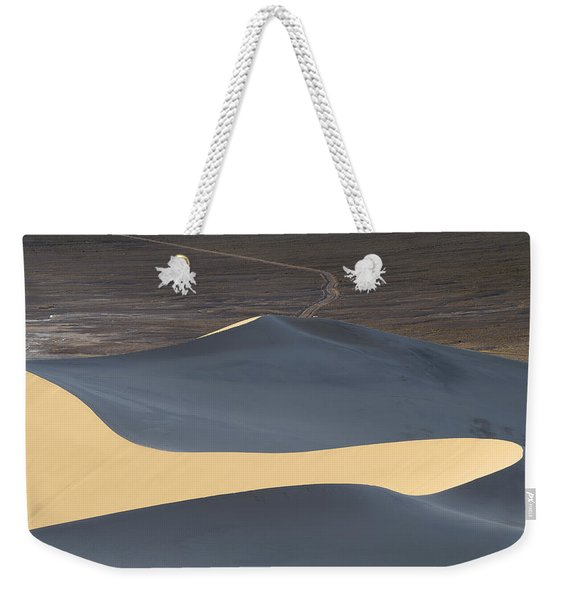 Above The Road Weekender Tote Bag