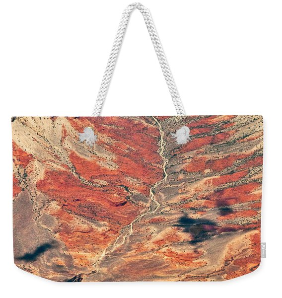 Weekender Tote Bag featuring the digital art Above Timber Line by Mae Wertz