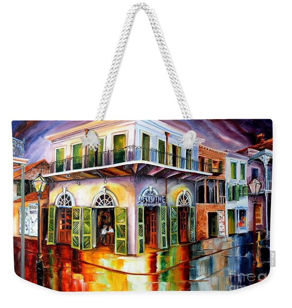 Absinthe House New Orleans Weekender Tote Bag