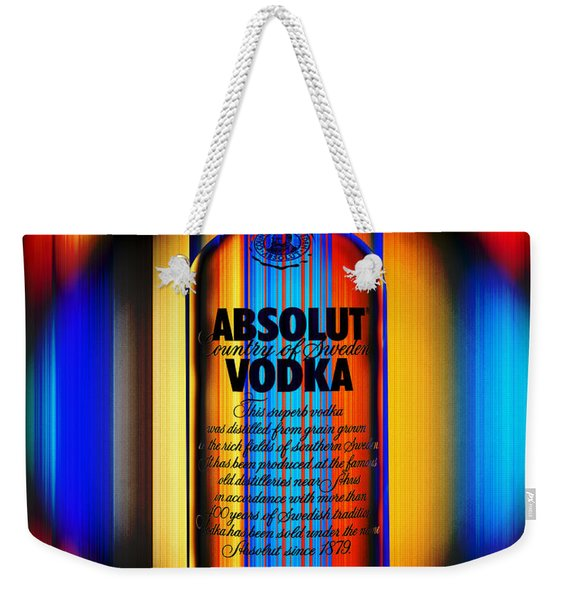 Absolut Abstract Weekender Tote Bag