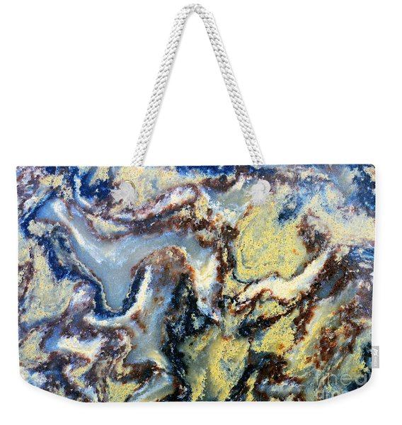 Patterns In Stone - 95 Weekender Tote Bag
