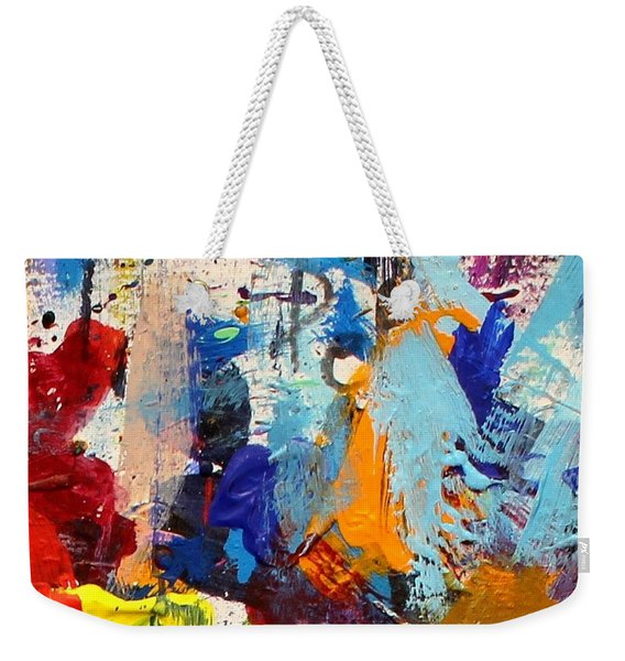 Abstract 10 Weekender Tote Bag