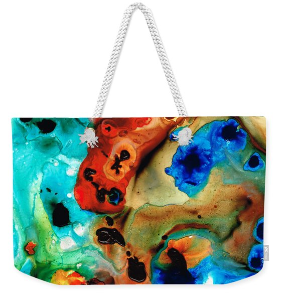 Abstract 4 - Abstract Art By Sharon Cummings Weekender Tote Bag