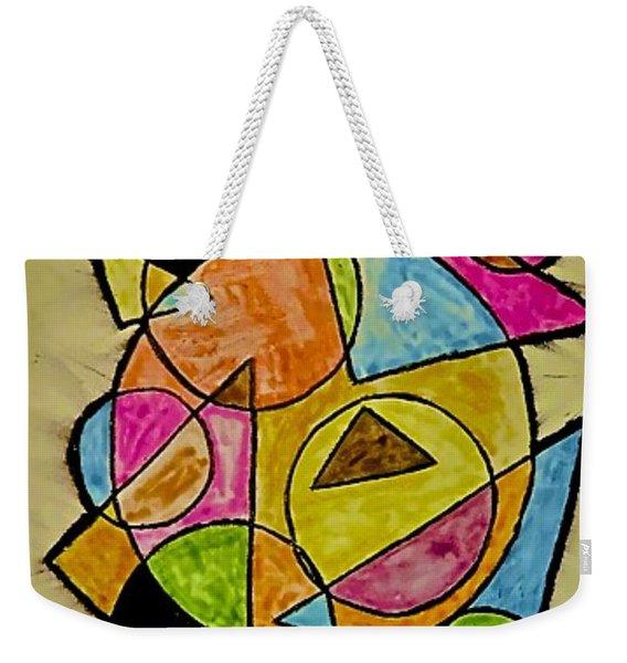 Abstract 89-004 Weekender Tote Bag