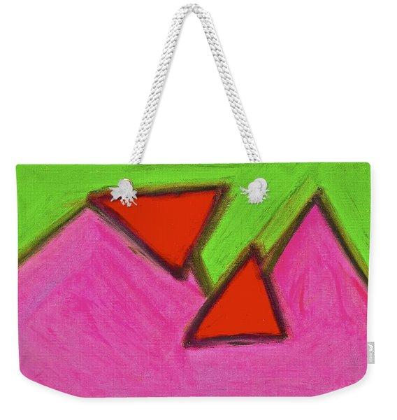 Abstract 92-002 Weekender Tote Bag