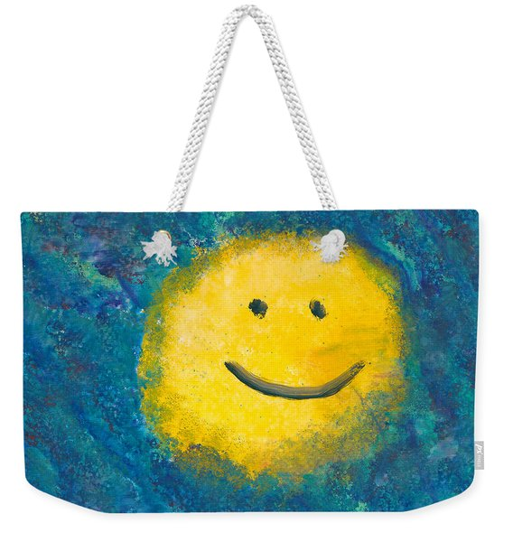 Abstract - Acrylic - Happy Abstraction Weekender Tote Bag