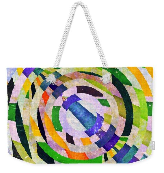 Abstract Circles Weekender Tote Bag