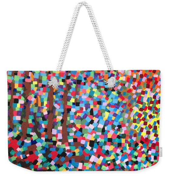 Abstract-colours Weekender Tote Bag