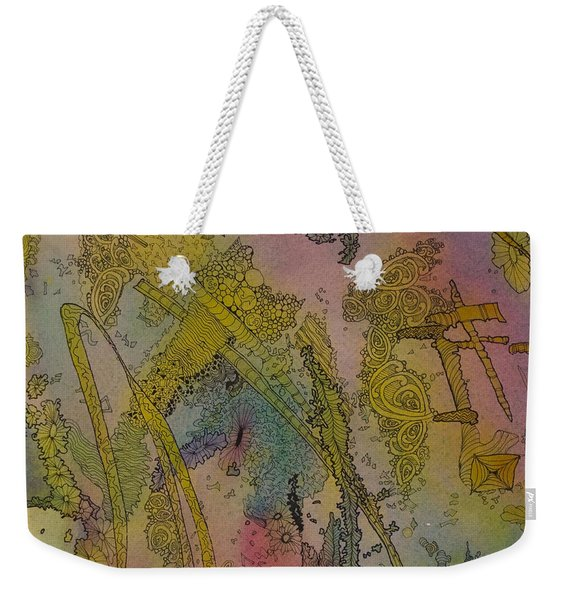 Abstract Doodle Weekender Tote Bag