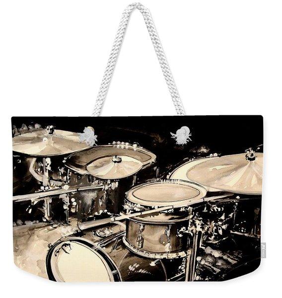 Abstract Drum Set Weekender Tote Bag