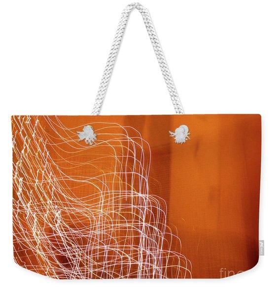 Abstract Energy Weekender Tote Bag