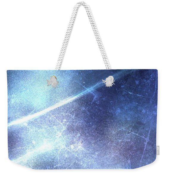 Abstract Frozen Glass Weekender Tote Bag