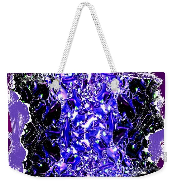 Abstract Fusion 117 Weekender Tote Bag