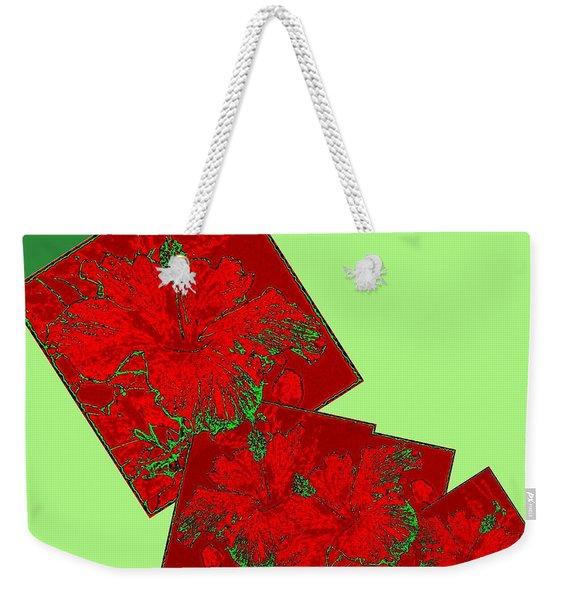 Abstract Fusion 172 Weekender Tote Bag