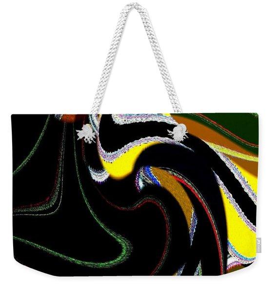 Abstract Fusion 183 Weekender Tote Bag