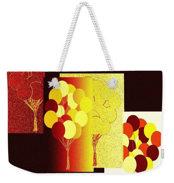 Abstract Fusion 192 Weekender Tote Bag