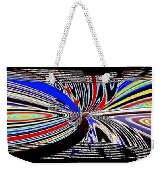 Abstract Fusion 197 Weekender Tote Bag