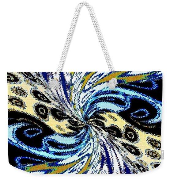 Abstract Fusion 198 Weekender Tote Bag