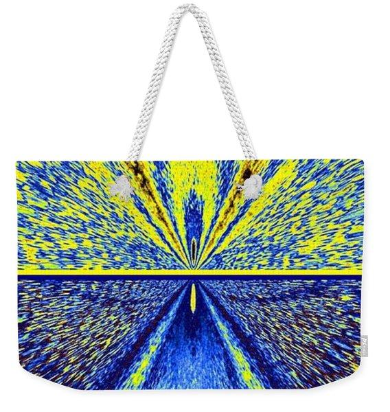 Abstract Fusion 226 Weekender Tote Bag
