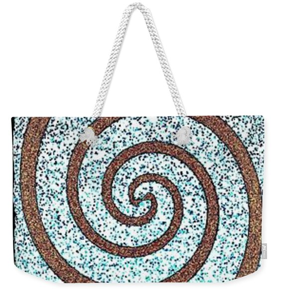 Abstract Fusion 231 Weekender Tote Bag