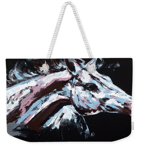 Abstract Horse Weekender Tote Bag
